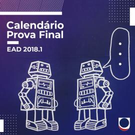 CALENDÁRIO FINAL EAD 2018.1